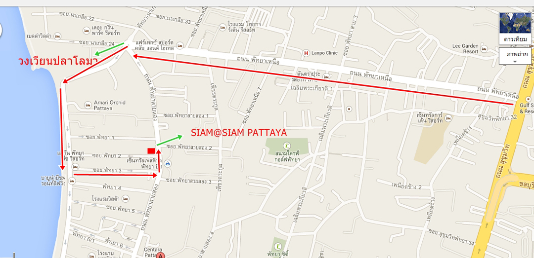 siamsiam-pattaya_map