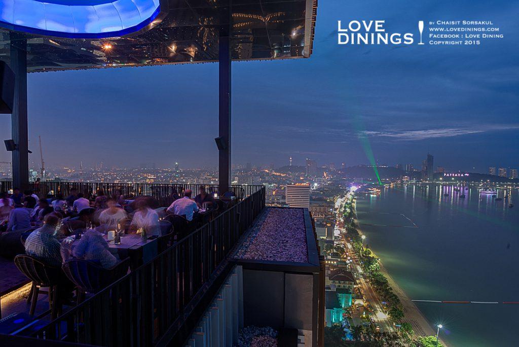 Rooftop Bar Pattaya รูฟท็อปบาร์พัทยา Horizon Rooftop