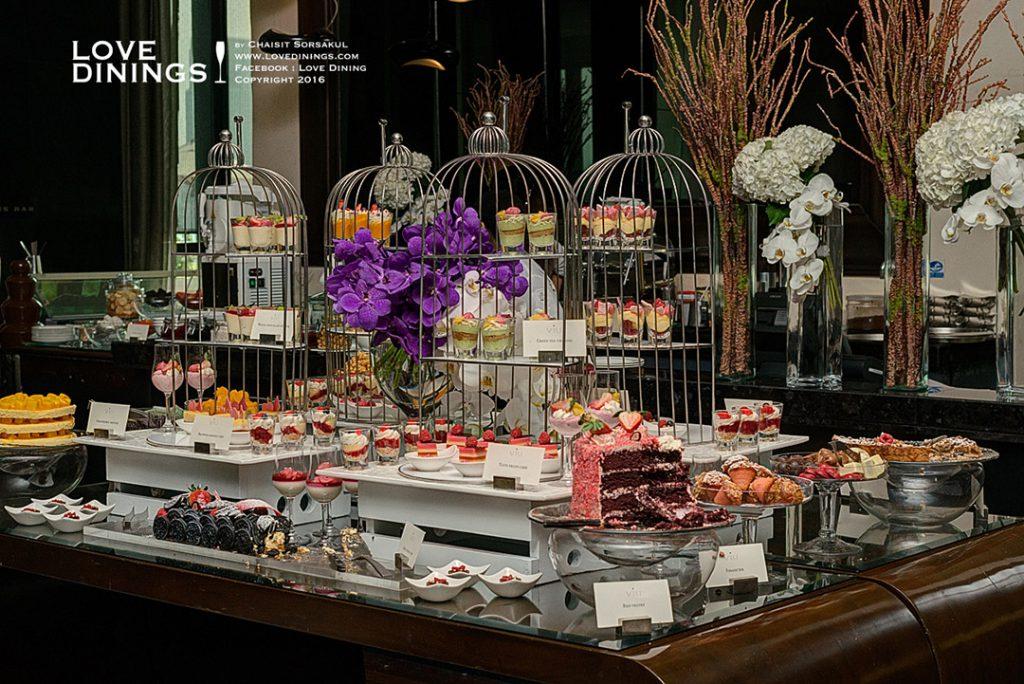 อาฟเตอร์นูนทีบุฟเฟ่เซนต์รีจีสกรุงเทพ Afternoon Tea Buffet
