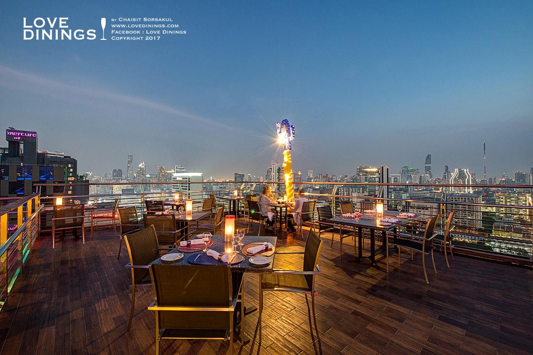 The Roof Gastro Siam At Siam Bangkok Rooftop Bar Bangkok