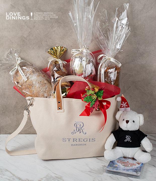กระเช้าของขวัญ ปีใหม่คริสมาสต์ 2562 แฮมเปอร์โรงแรมห้าดาวกรุงเทพ Hamper Christmas New Year2019 Five Star Hotel Bangkok St.regis_13