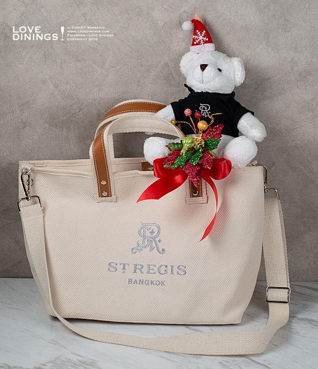 กระเช้าของขวัญ ปีใหม่คริสมาสต์ 2562 แฮมเปอร์โรงแรมห้าดาวกรุงเทพ Hamper Christmas New Year2019 Five Star Hotel Bangkok St.regis_14
