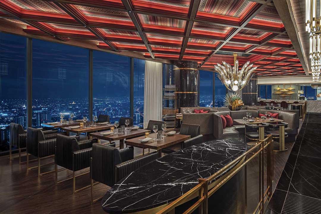 บูลแอนด์แบร์ ห้องสเต็กวอดอร์ฟ กรุงเทพ วาเลนไทน์ 2562 Bull&Bear Waldorf Astoria Bangkok Steak House ,Valentine 2019_1