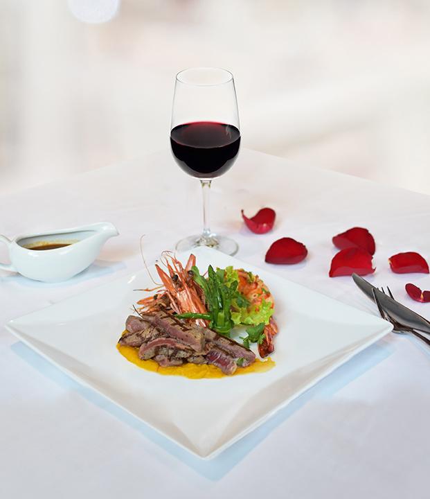 โปรโมชั่นร้านอาหารวาเลนไทน์ 2562 ,Valentine Restaurant Promotion Five Star Hotel Bangkok 2019_106