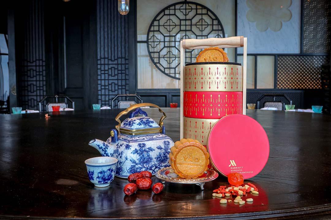 ขนมไหว้พระจันทร์ 2562 แบงค็อกแมริออทเดอะ สุรวงศ์ Mooncake 2019 Bangkok Marriott Hotel Surawongse-42