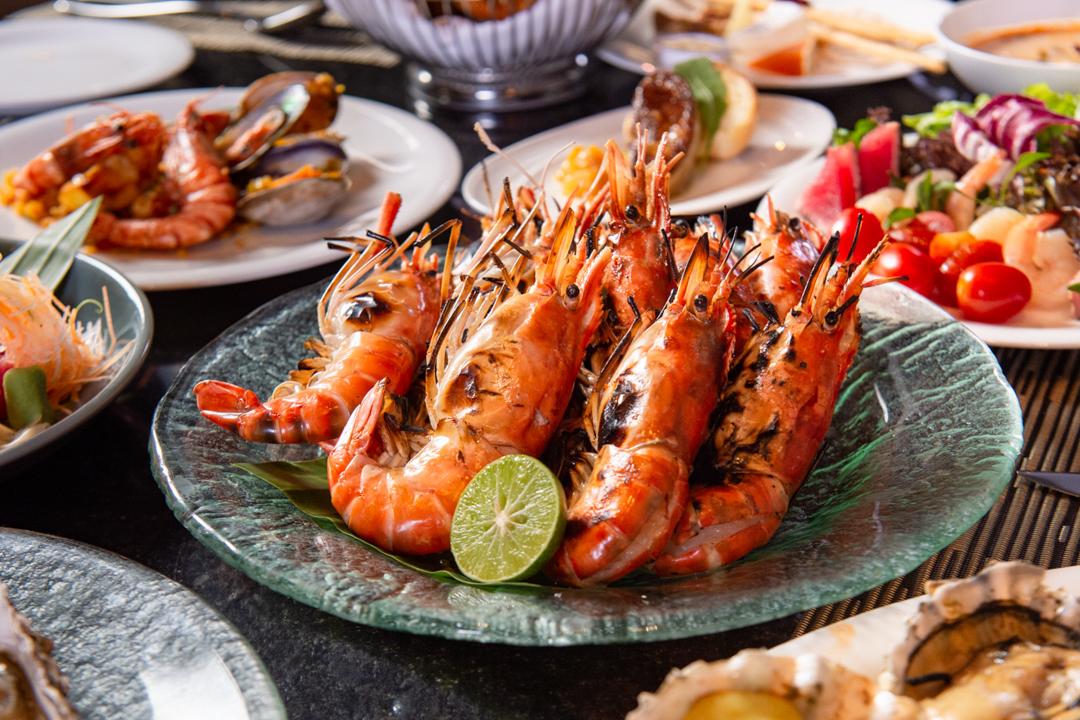 ดินเนอร์ซีฟู้ดบุฟเฟ่ต์ โอกุระกรุงเทพ Dinner Buffet Seafood at The Okra Prestige Bangkok_03