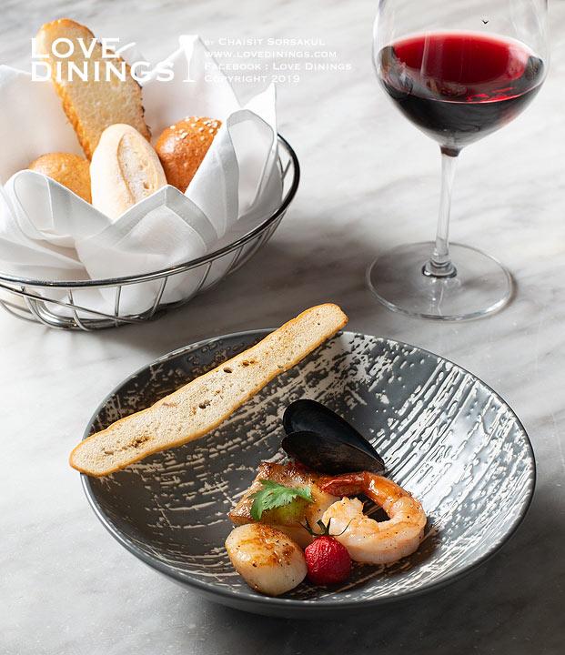 Café@2 CONRAD BANGKOK , คาเฟ่แอททู โรงแรมคอนราดกรุงเทพ เซ็ทคอร์สอาหารฝรั่งเศสราคาสมเหตุสมผล_09