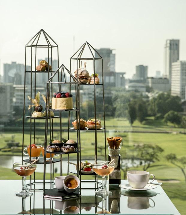 อาฟเตอร์นูนที เซนต์รีจีสกรุงเทพ ร่วมกับดีไซเนอร์แบรนด์ TAWN C. ,Old New York – Modern Bangkok(Afternoon tea St.regis Bangkok_2