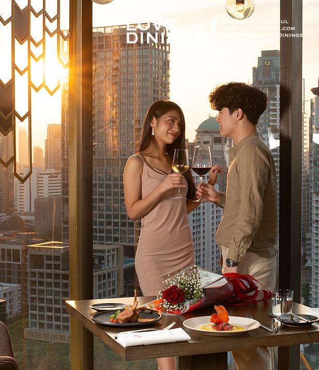 สุดยอดร้านอาหารวาเลนไทน์ 2563 กรุงเทพ พัทยา Valentine Restaurant 2020 Bangkok Pattaya_027