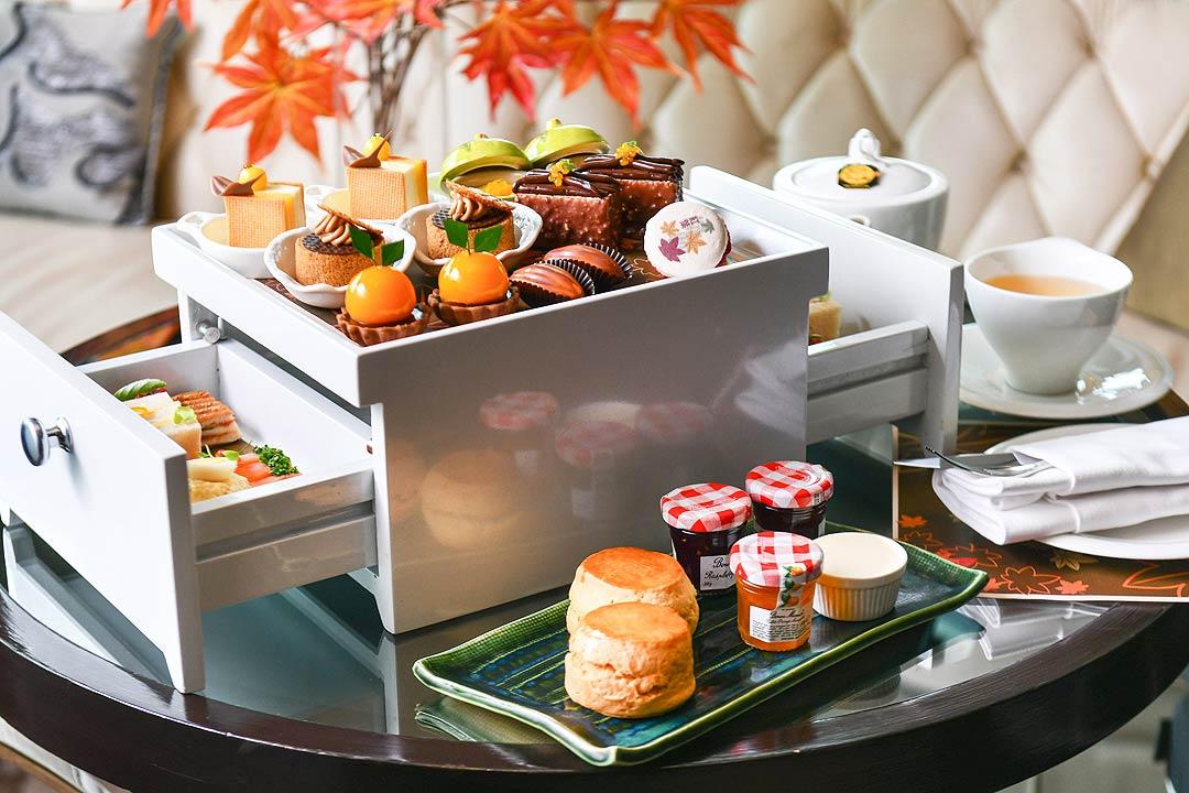 อาฟเตอร์นูนที ดิโอกุระเพรสทีจ กรุงเทพฯ 2562 ช่วงใบไม้เปลี่ยนสีที่ญี่ปุ่น ,The Okura Prestige Bangkok Afternoon Tea 2019_01