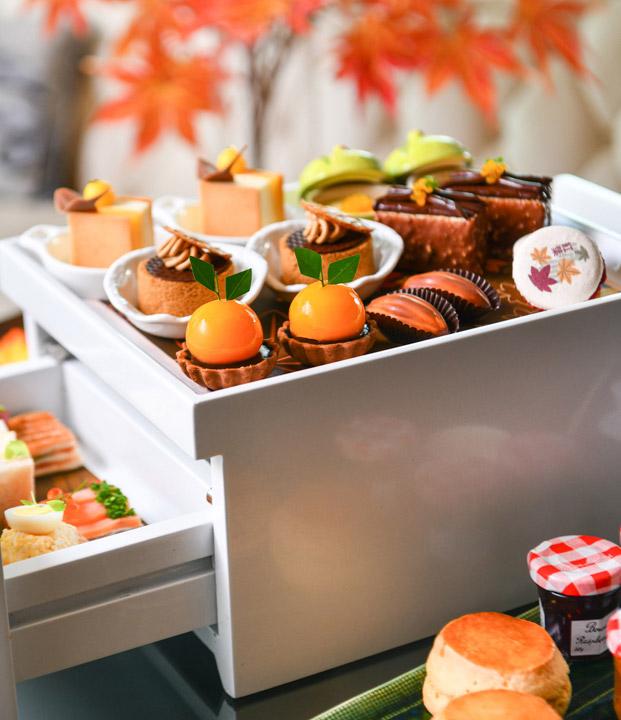 อาฟเตอร์นูนที ดิโอกุระเพรสทีจ กรุงเทพฯ 2562 ช่วงใบไม้เปลี่ยนสีที่ญี่ปุ่น ,The Okura Prestige Bangkok Afternoon Tea 2019_02