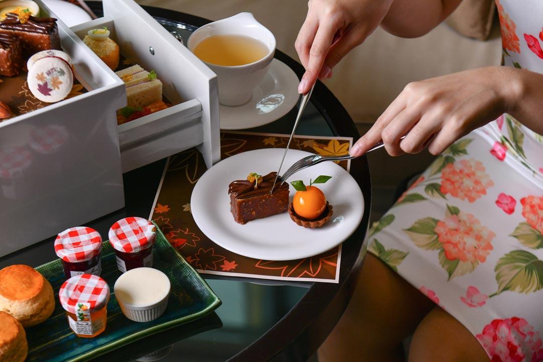 อาฟเตอร์นูนที ดิโอกุระเพรสทีจ กรุงเทพฯ 2562 ช่วงใบไม้เปลี่ยนสีที่ญี่ปุ่น ,The Okura Prestige Bangkok Afternoon Tea 2019_12
