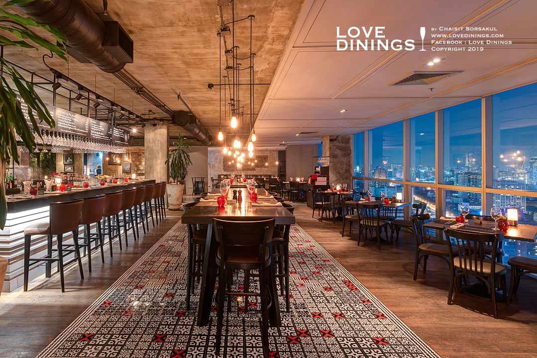 สเต็กเฮ้าส์ที่ดีที่สุดโรงแรมห้าดาวกรุงเทพ(ท็อปสเต็กเฮ้าส์) เดอะเบส The best Steakhouse Five Star Bangkok(Top Steakhouse)_26