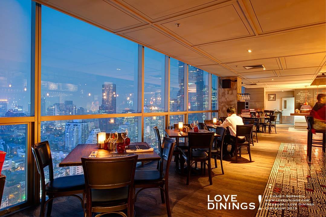 สเต็กเฮ้าส์ที่ดีที่สุดโรงแรมห้าดาวกรุงเทพ(ท็อปสเต็กเฮ้าส์) เดอะเบส The best Steakhouse Five Star Bangkok(Top Steakhouse)_27