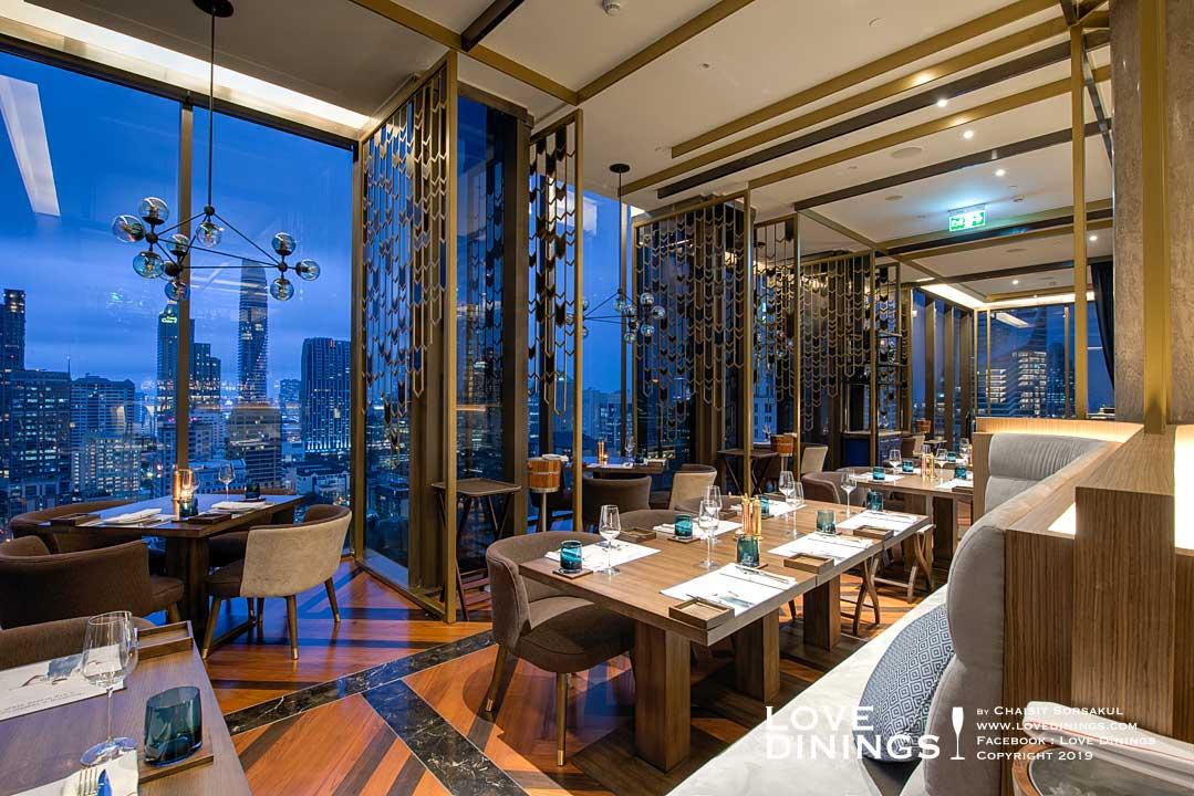 สเต็กเฮ้าส์ที่ดีที่สุดโรงแรมห้าดาวกรุงเทพ(ท็อปสเต็กเฮ้าส์) เดอะเบส The best Steakhouse Five Star Bangkok(Top Steakhouse)_31
