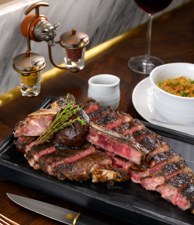 Bull & Bear , Waldorf Astoria Bangkok ,Steak House , บูล แอนด์ แบร์ ห้องสเต็กเฮ้าส์โรงแรม วอลดอร์ฟ แอสโทเรีย กรุงเทพ_08
