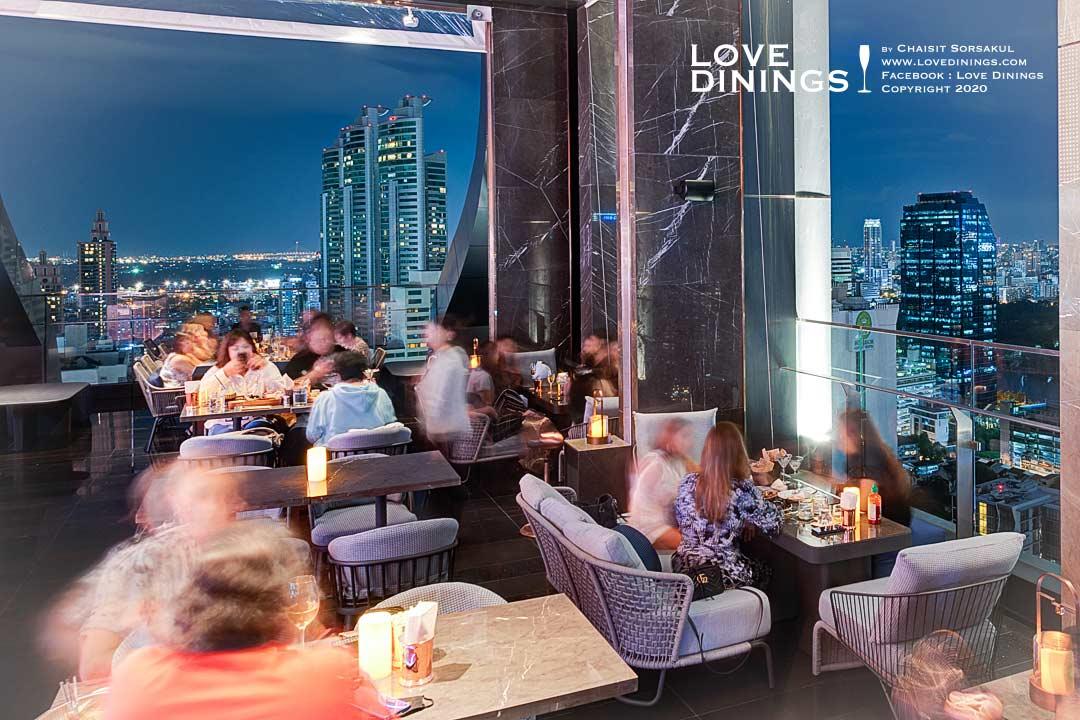คูลลิ่ง ทาวเวอร์ รูฟท็อปบาร์โรงแรมคาร์ลตัน กรุงเทพฯ สุขุมวิท Cooling Tower Rooftop Bar , Carlton Hotel Bangkok Sukhumvit-10