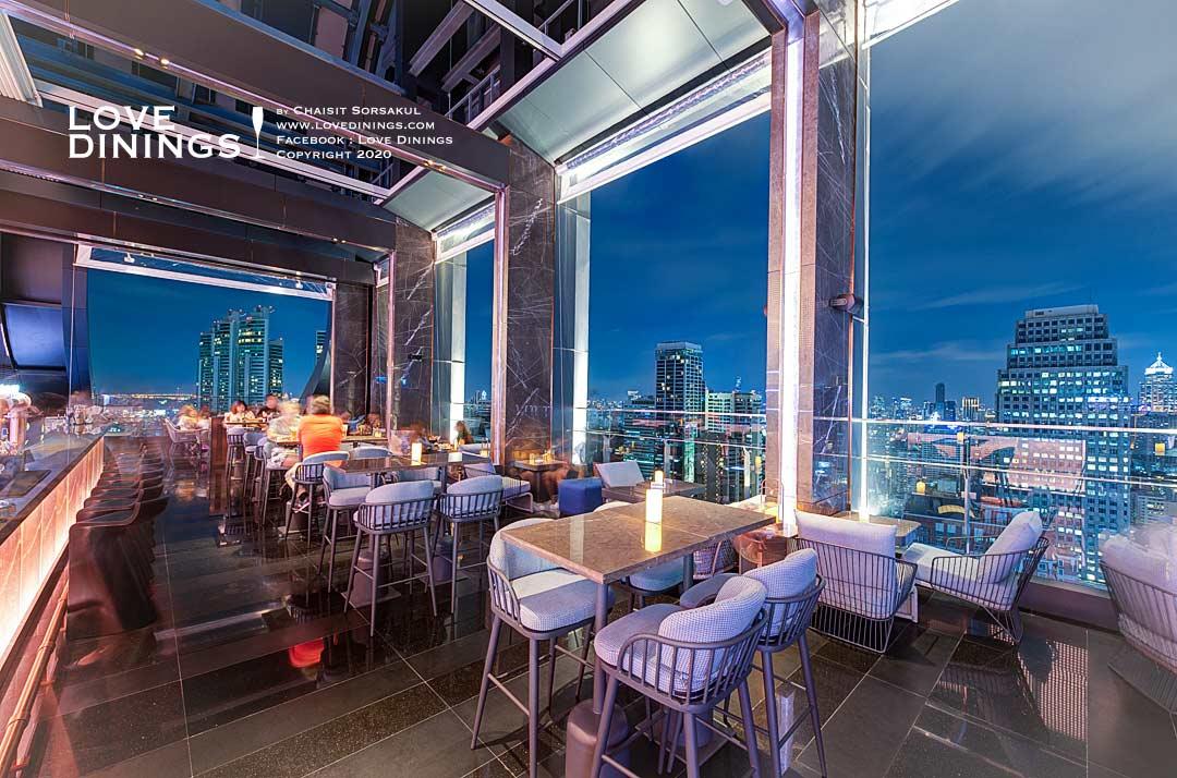 คูลลิ่ง ทาวเวอร์ รูฟท็อปบาร์โรงแรมคาร์ลตัน กรุงเทพฯ สุขุมวิท Cooling Tower Rooftop Bar , Carlton Hotel Bangkok Sukhumvit-11